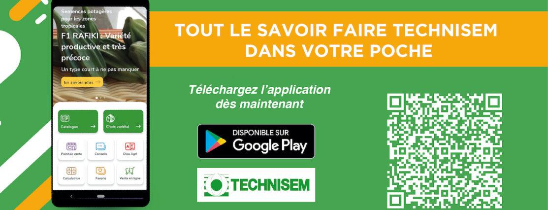 Technisem Application mobile